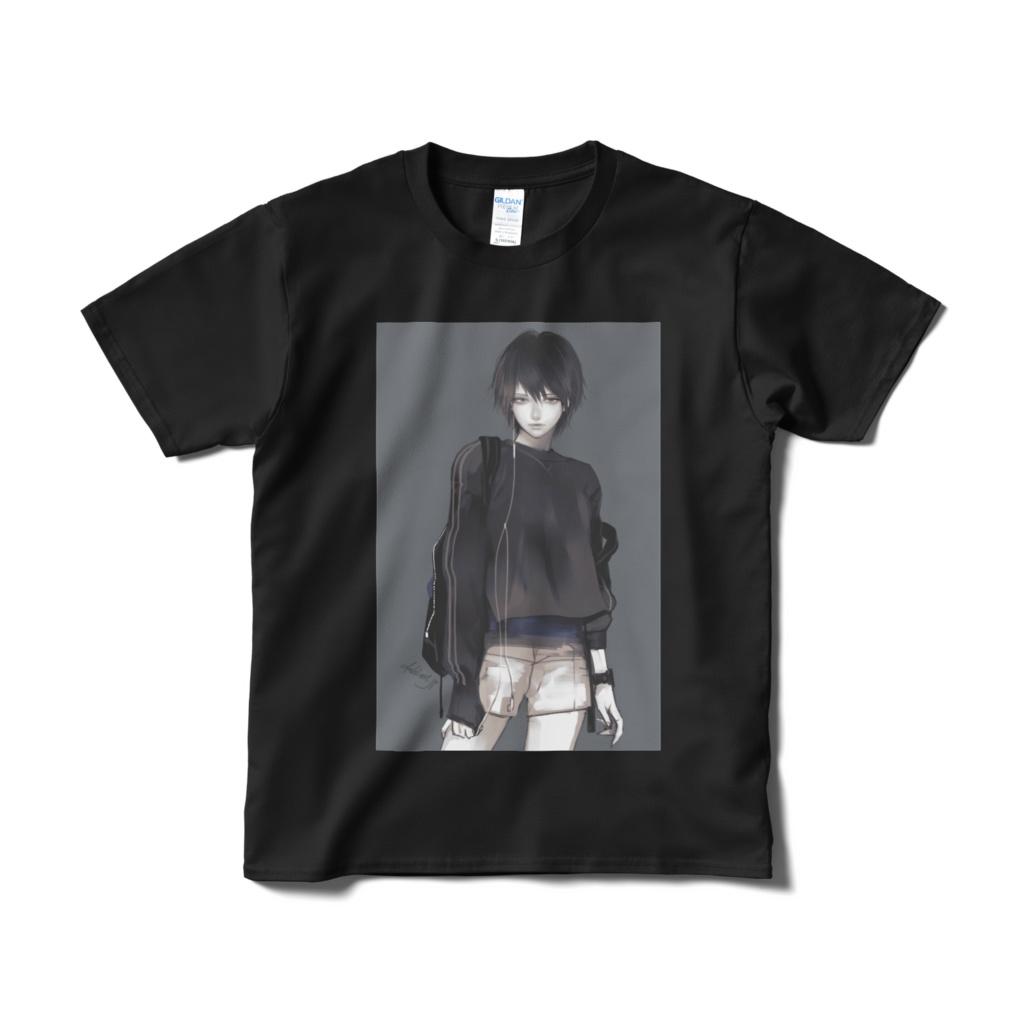 「Short」Tシャツ Black