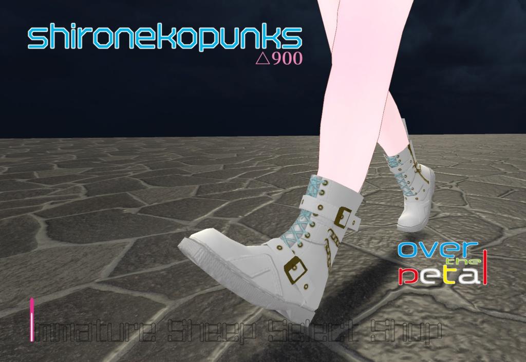 ブーツ『shironekopunks』 - over the petal △900