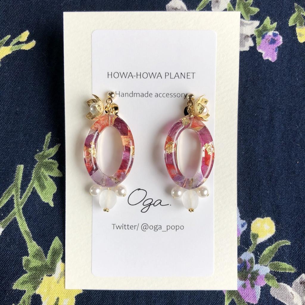 【朱桜司】pierce&earring