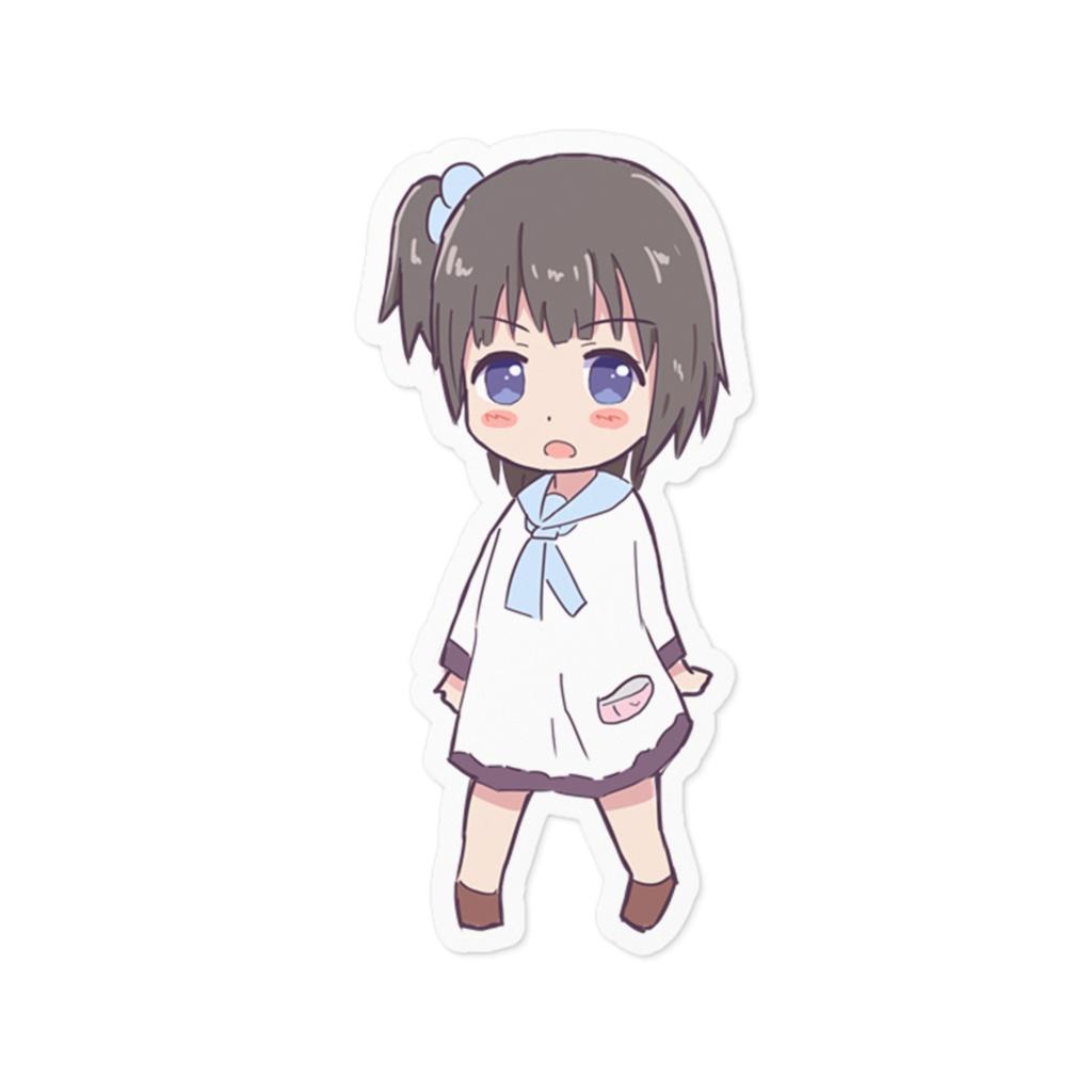 SDきりみんちゃんステッカー
