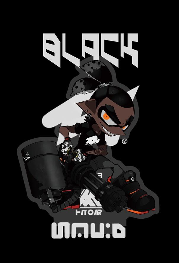 BLACK アクリルフィギュア