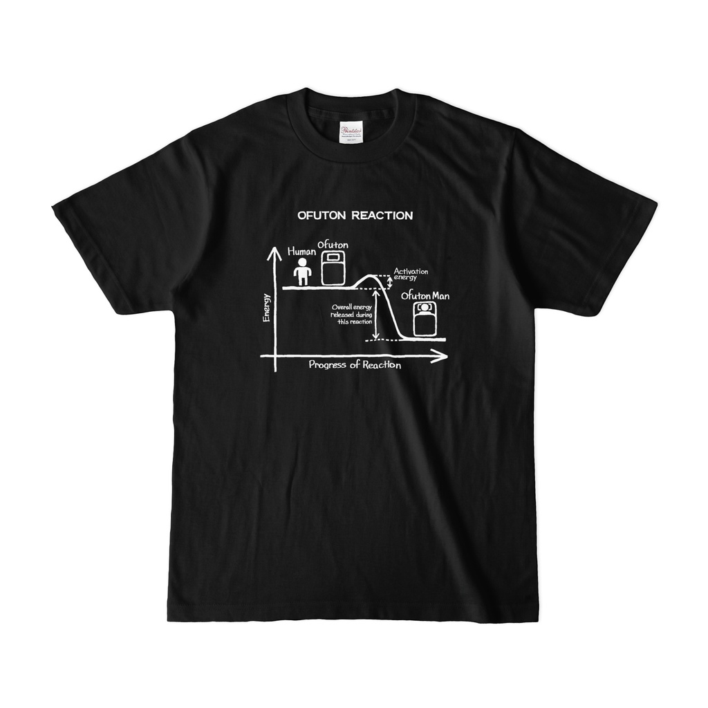 OFUTON REACTION Tシャツ (Black)