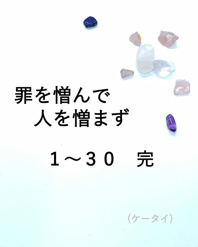 罪を憎んで人を憎まず 01-30 完(ケータイ)