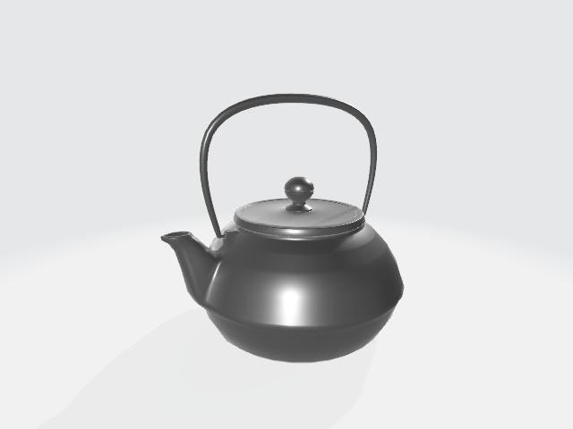 南部鉄瓶(FBXファイル)