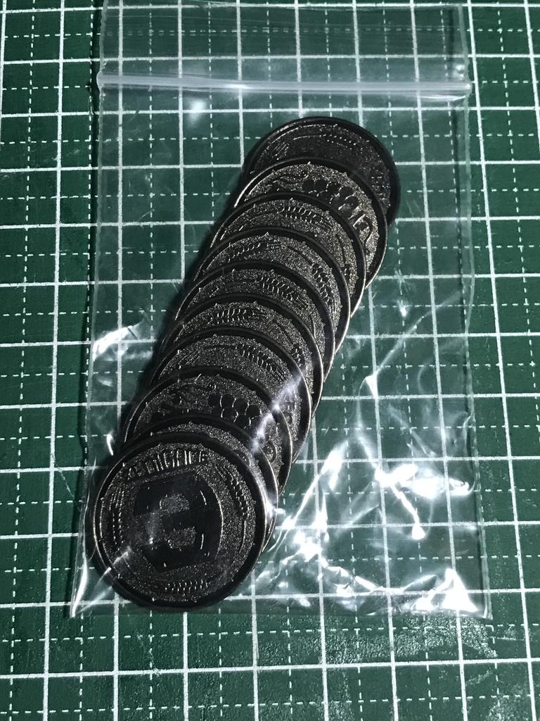 銭亀コイン3黒貨(10枚セット)