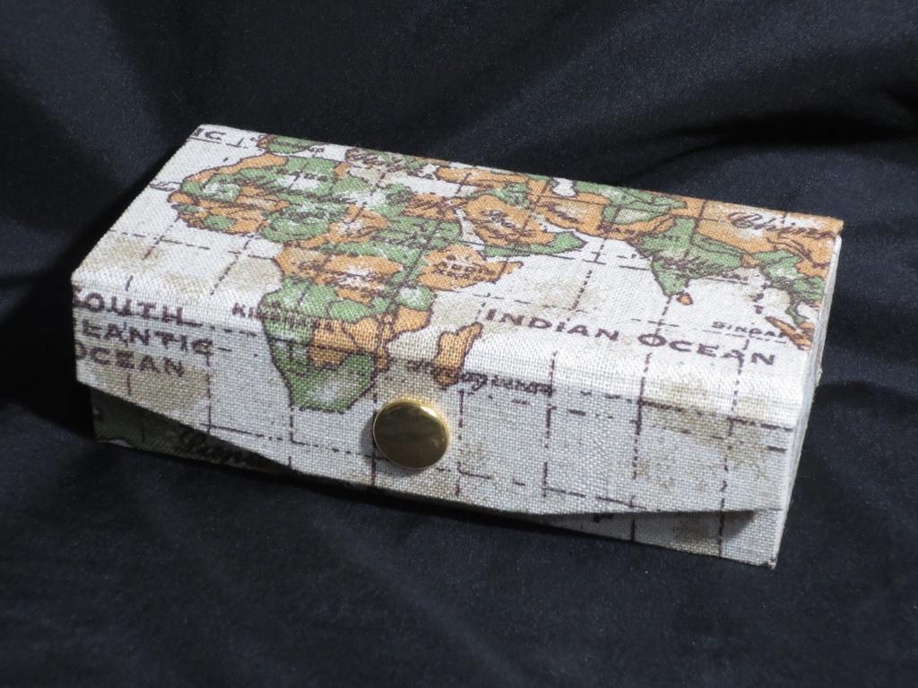 銭亀バンク(布:ワールドマップ)