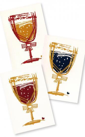 スパークリングワイン(ポストカード)