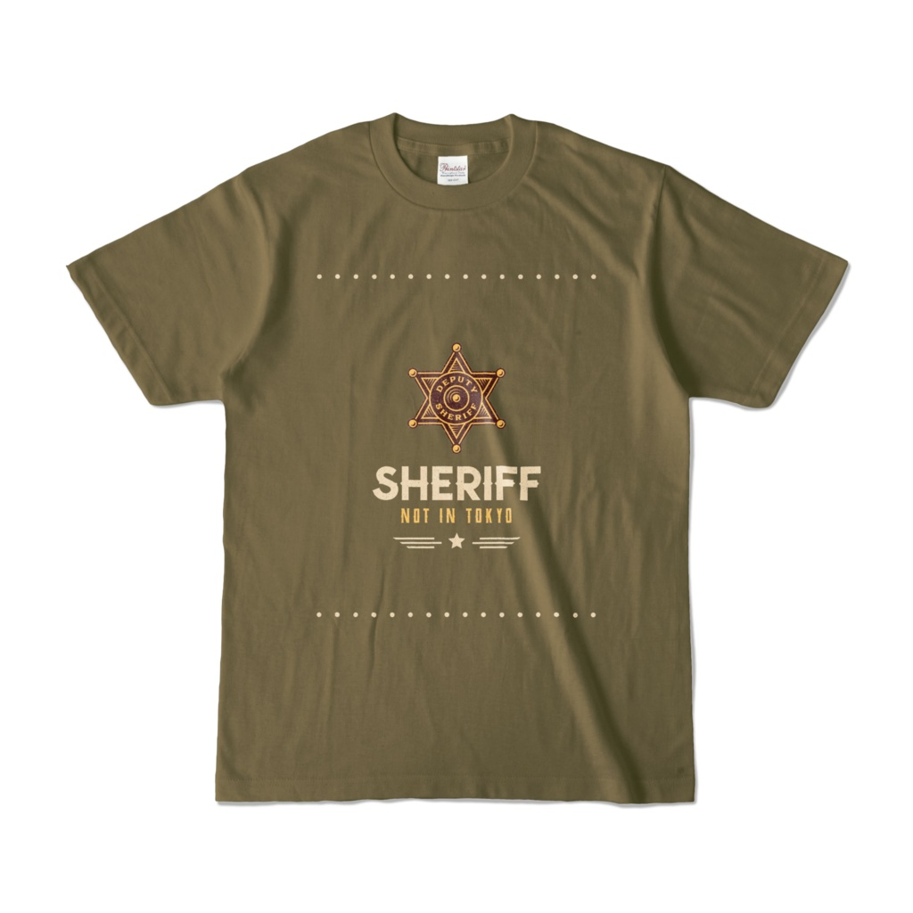 Sheriff is not in Tokyo #STAYSAFE