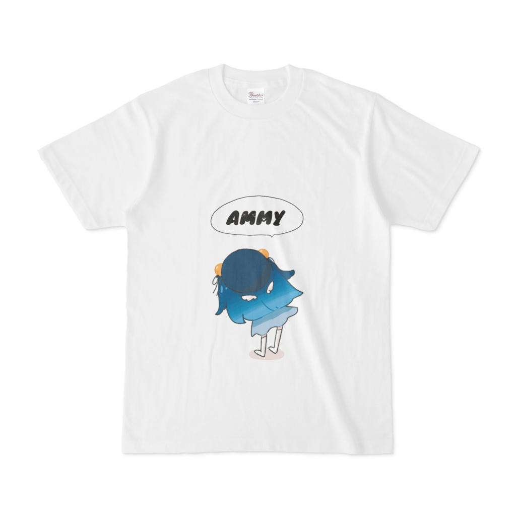 天宮こころ オリジナルTシャツ(白)
