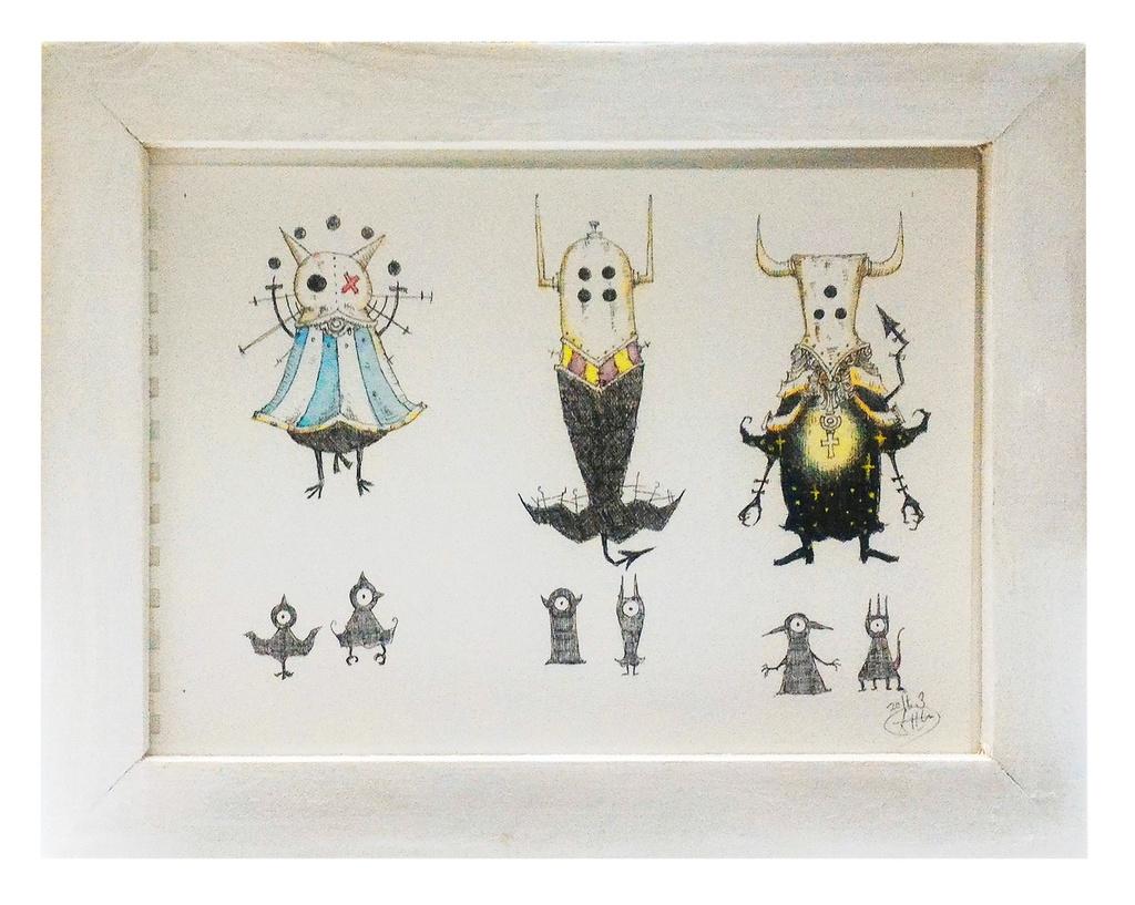3匹の魔王 原画イラスト Taishi 1103 Booth