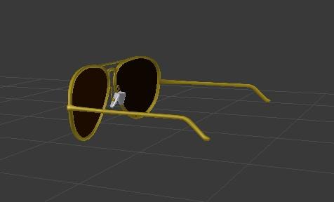 【無料】ちょいワルグラサン【3Dモデル】