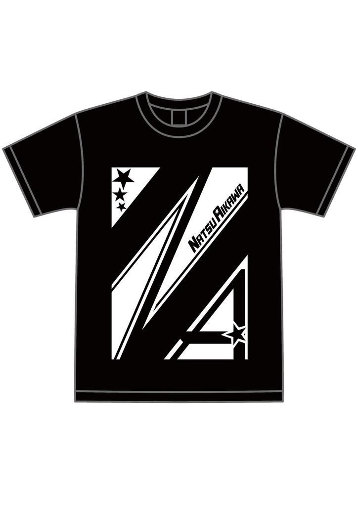 相川なつTシャツ 黒