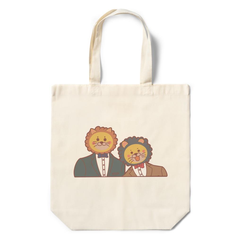 あるあるライオンエコバッグ