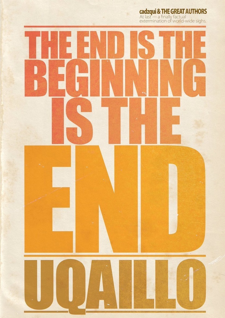 ウカイロ9「THE END IS THE BEGINNING IS THE END」