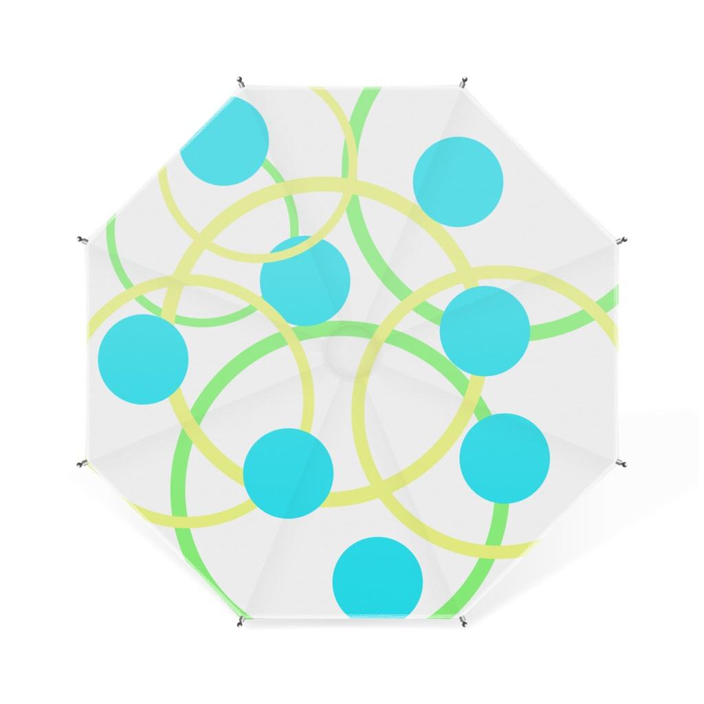 水玉卓上傘