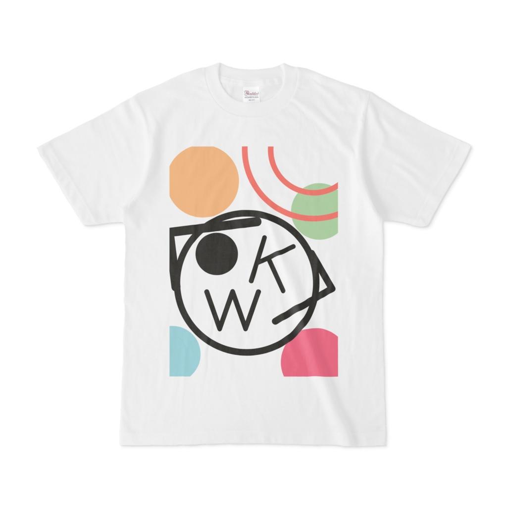 カラフルタマ丸Tシャツ