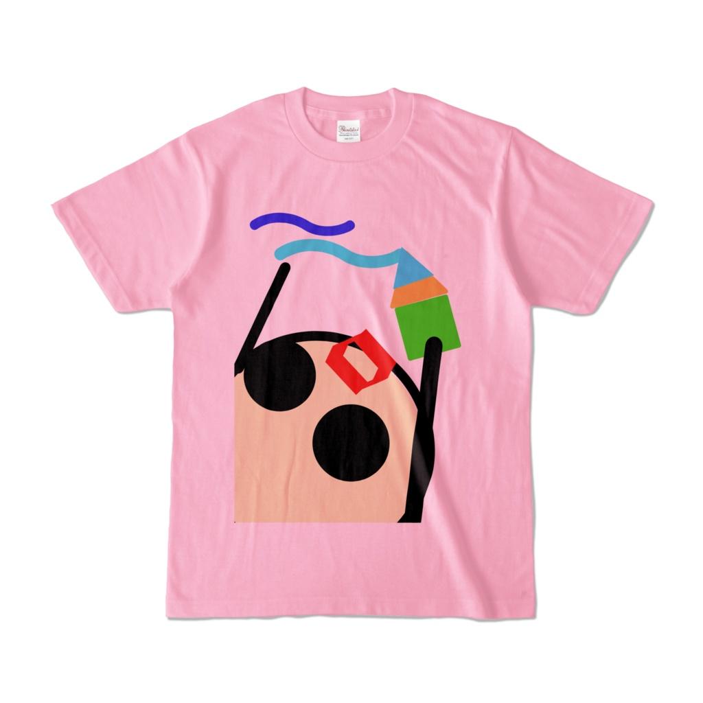 タマ丸落書きしちゃえTシャツ