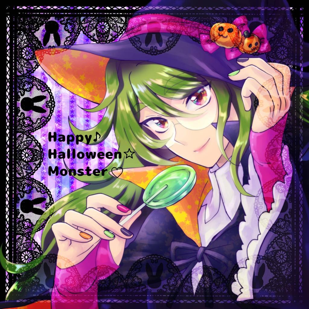 Happy☆Halloween♪Monster(v)