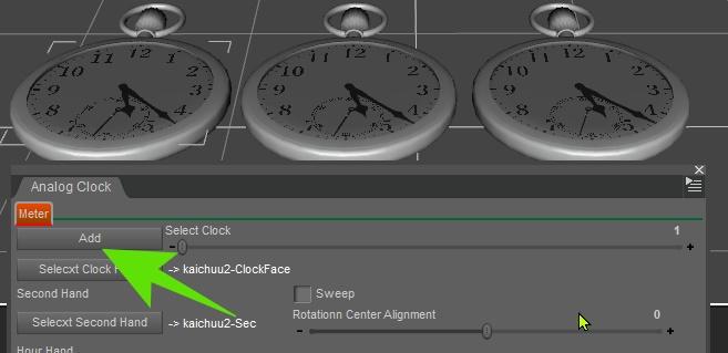 Analog Clock (subset version)