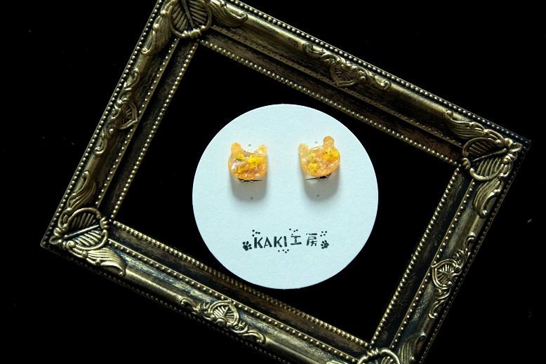 杉元イメージのレジンイヤリング