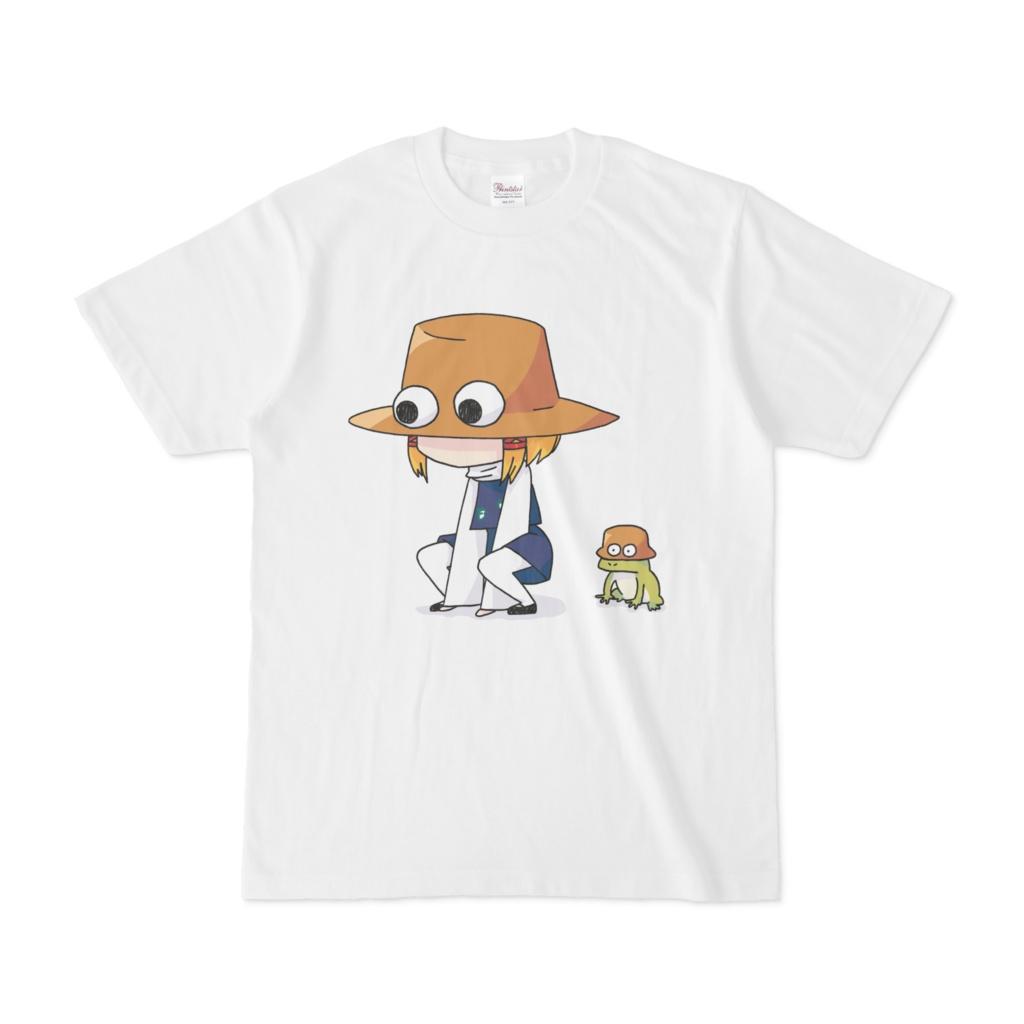 ケロちゃんの目力すごいよTシャツ
