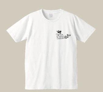 リリックマTシャツ(白シャツ+黒)