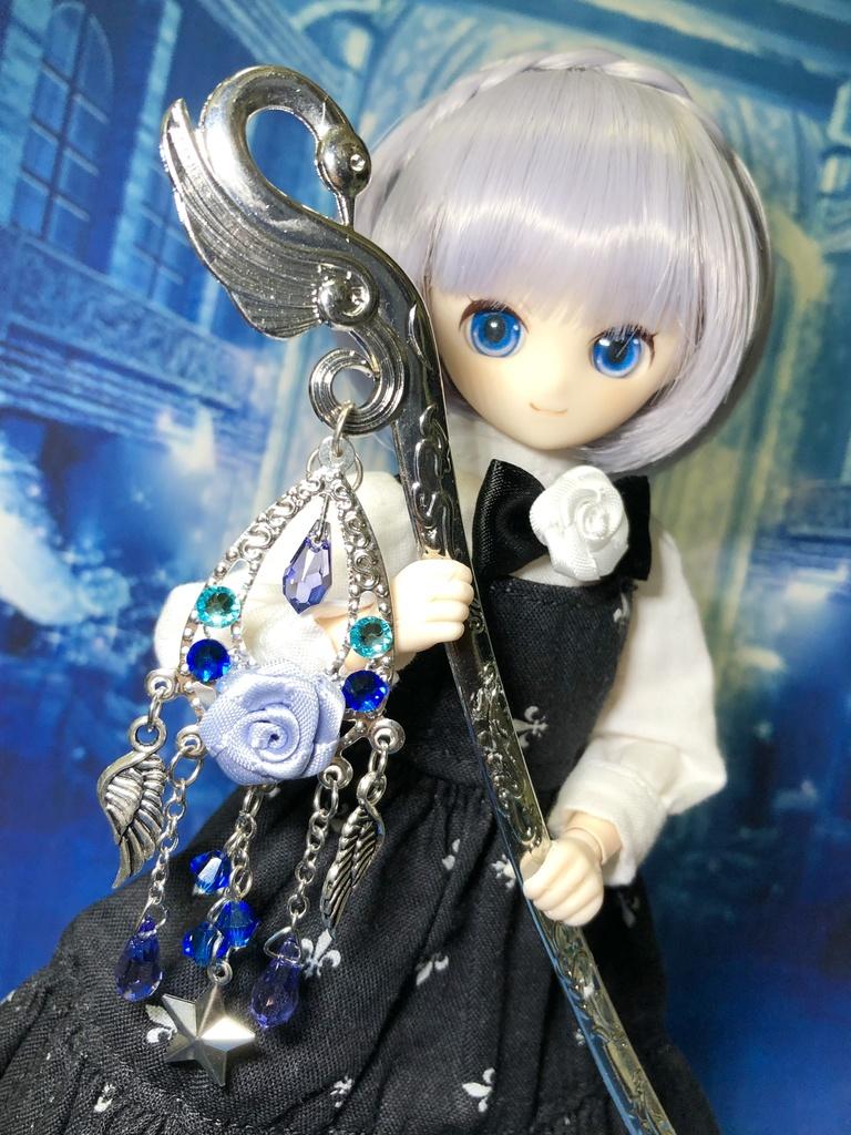 オビツ22 ピュアニーモ  魔法の杖 薔薇×羽