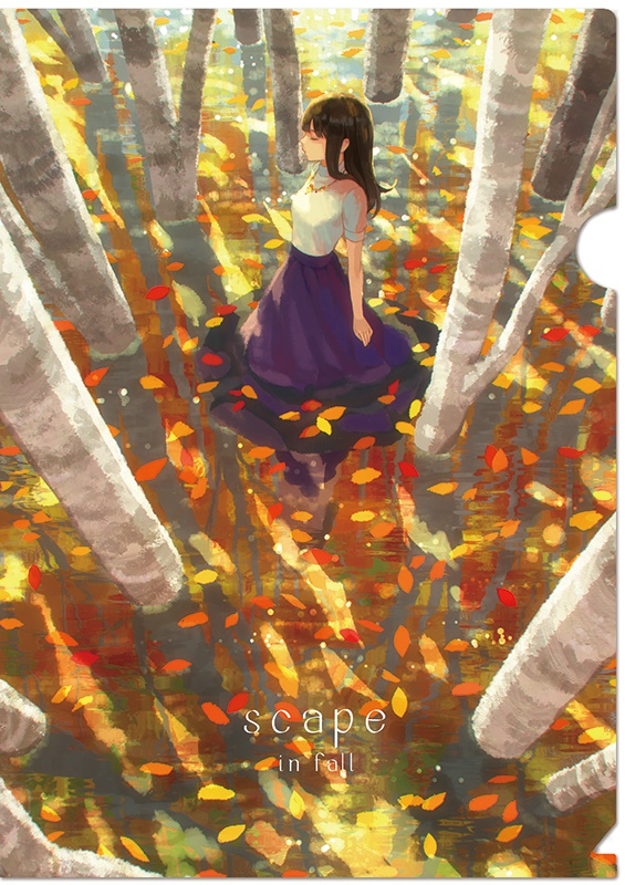 """""""in fall"""" A4クリアファイル"""