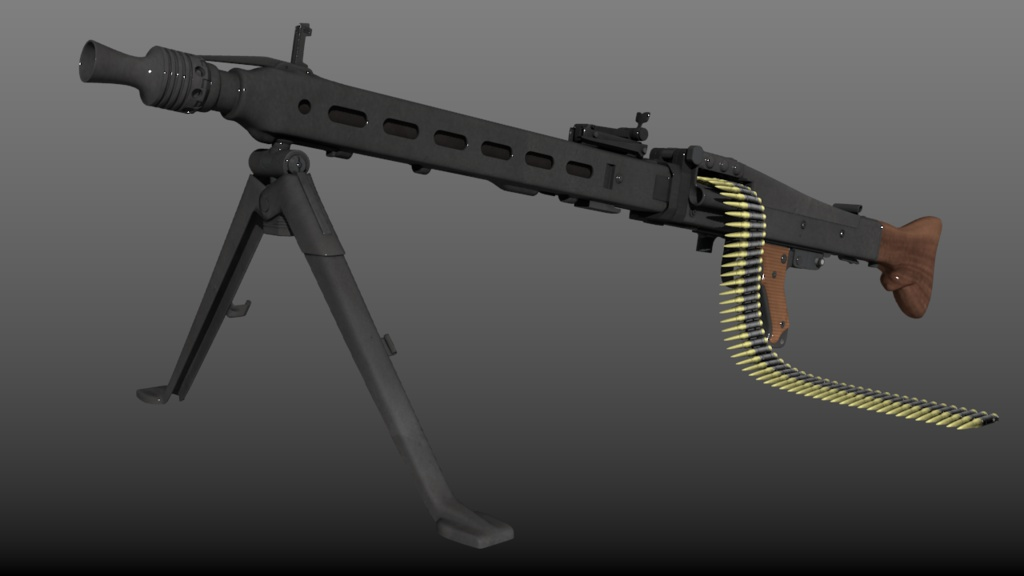 3Dデータ/ドイツ製某機関銃