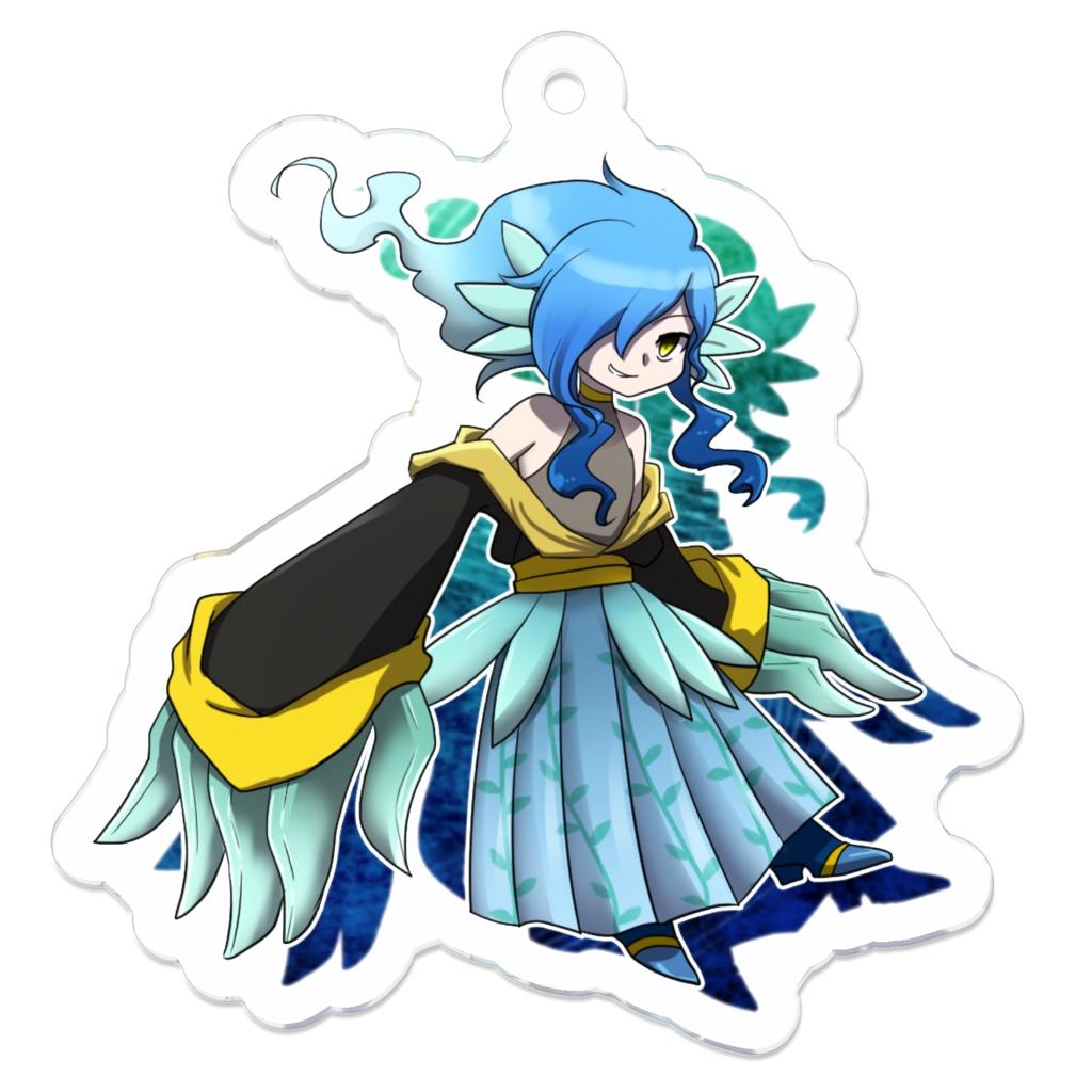 【うさめ】海神様アクキー