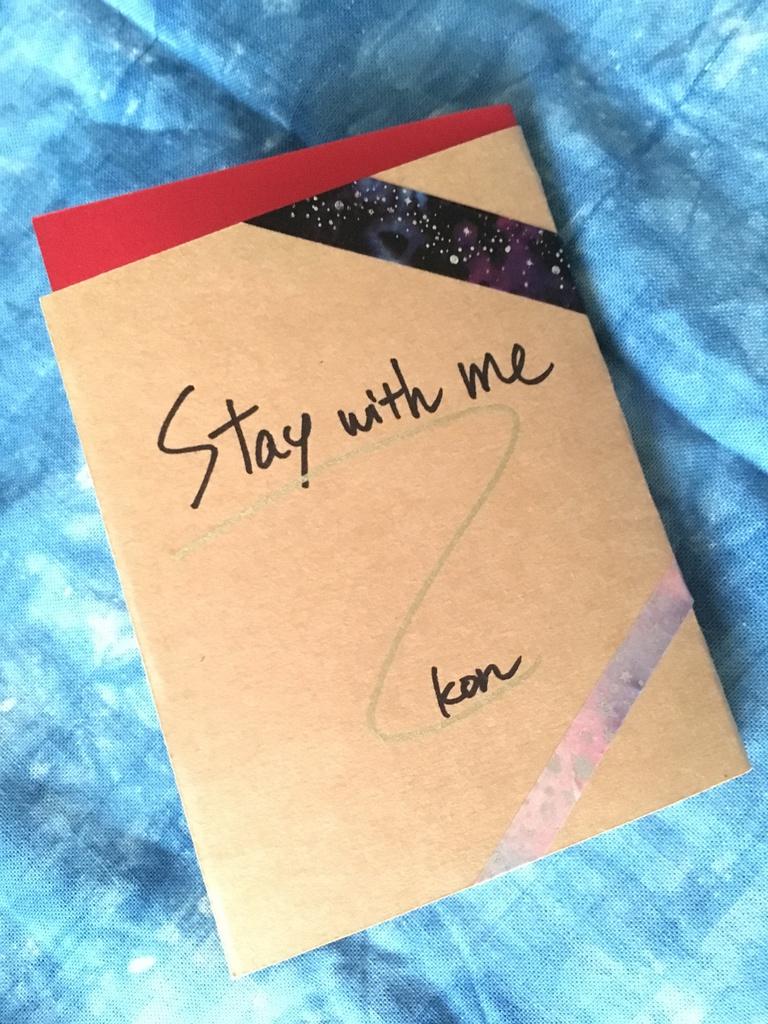 小説コピー本『Stay with me』