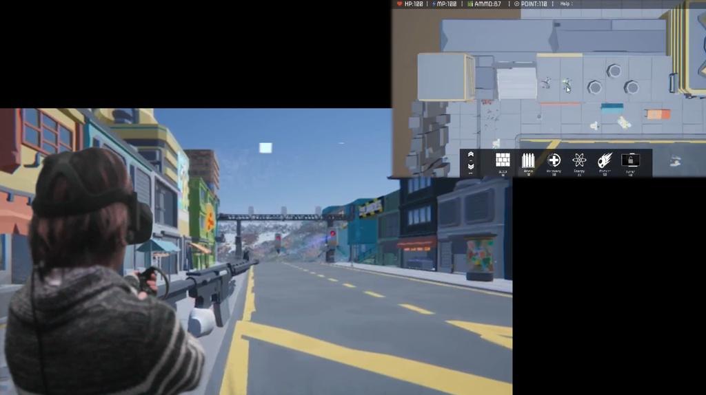 [協力型VRゲーム]Two-Side