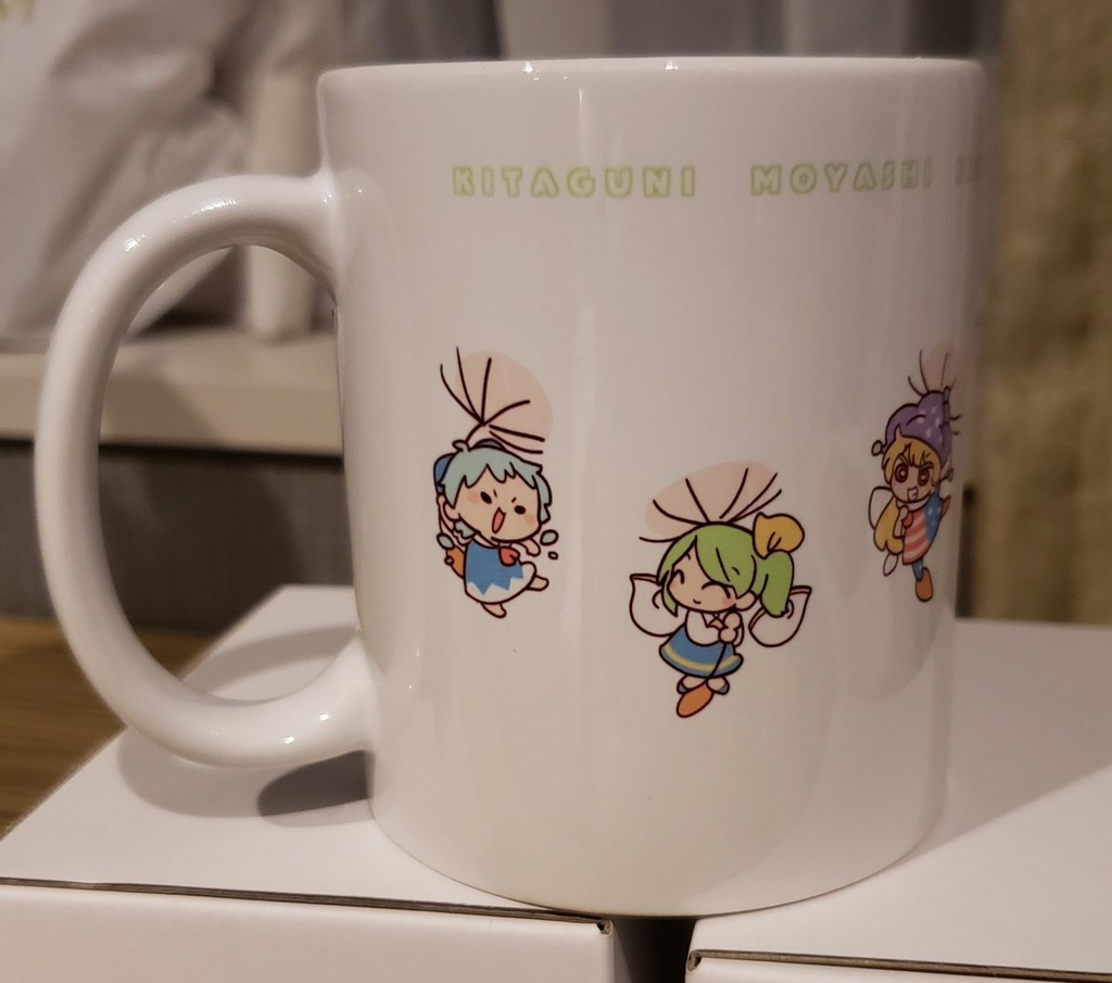 妖精マグカップ