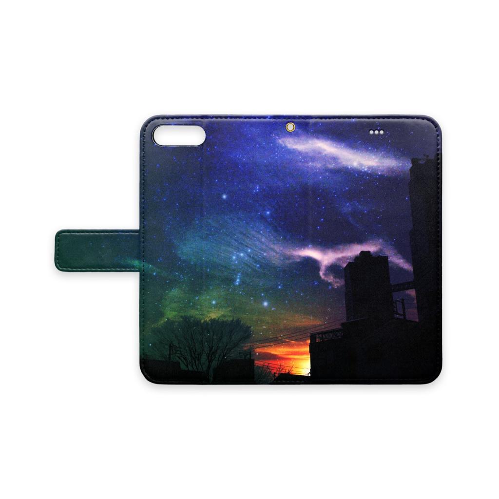 夜空色iPhoneケース(iPhone 8 Plus,7 Plus)