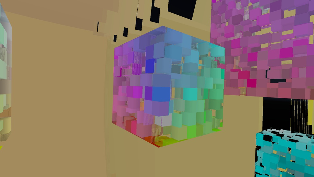 Raymarching Cube Shader (Unity/VRChat) @wraikny_vrc - - BOOTH