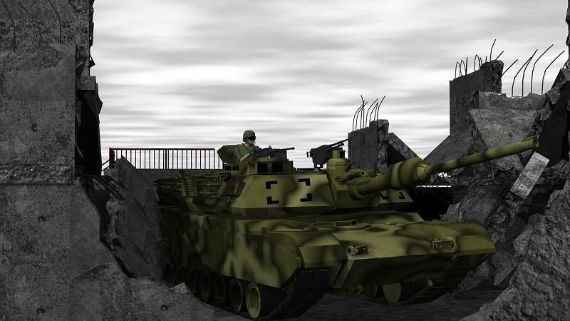 戦車「エイブラムス」