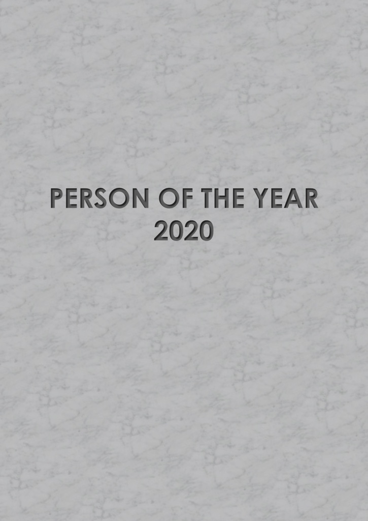 PERSON OF THE YEAR 2020記録集