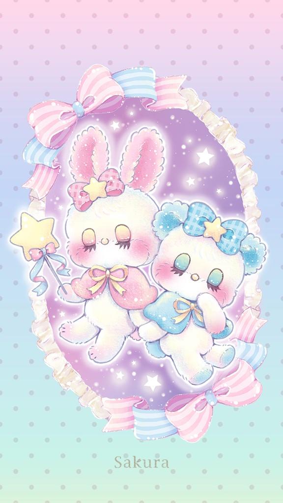 Iphone 壁紙 Twinkle Magic Sakura Booth