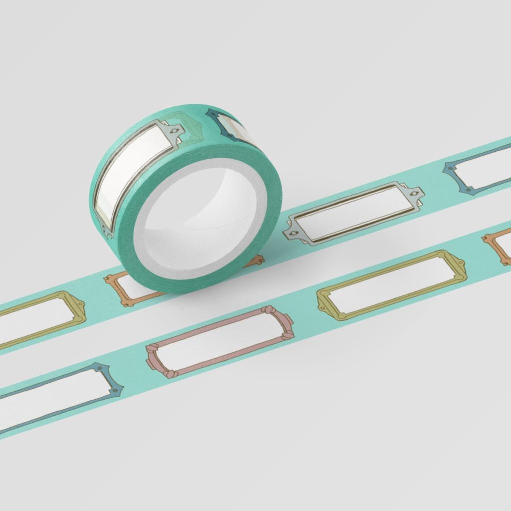 マスキングテープ ラベル(RIRU-DECO)