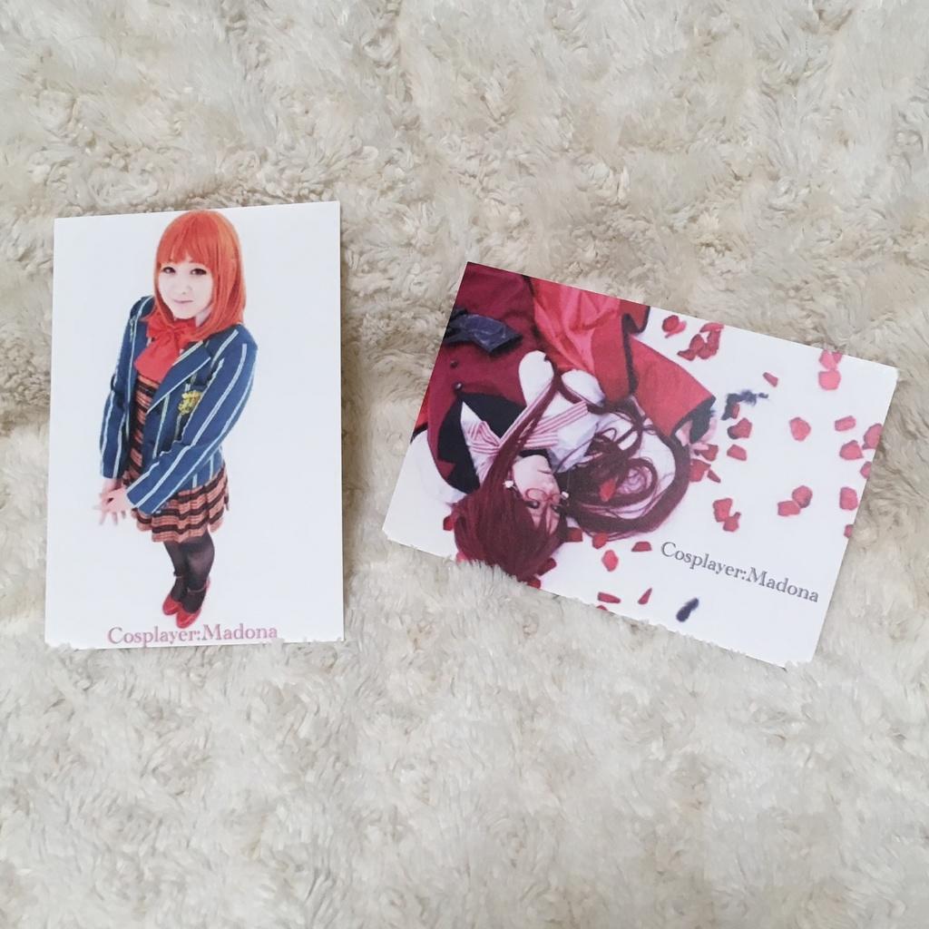 コスプレポストカード2種4枚セット