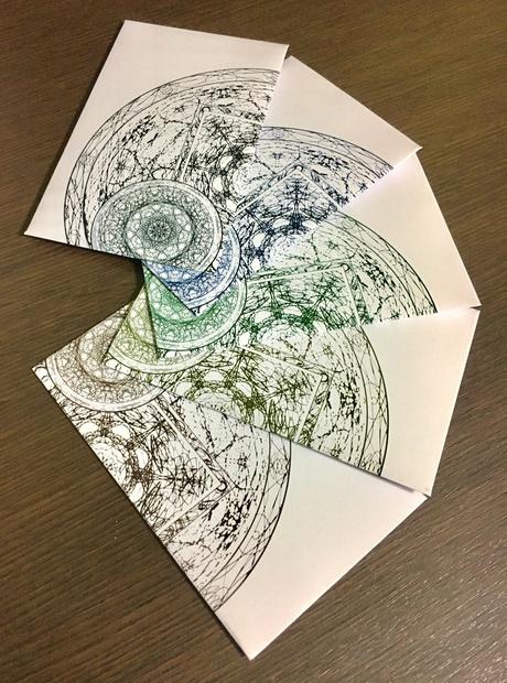 【あんしんBOOTHパック】魔法陣のポチ袋(多色)