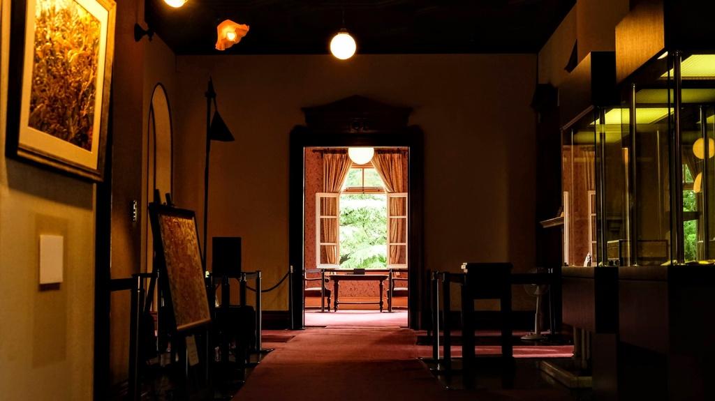 【素材】背景 写真 『洋館内部、廊下』 100枚【TRPG用】