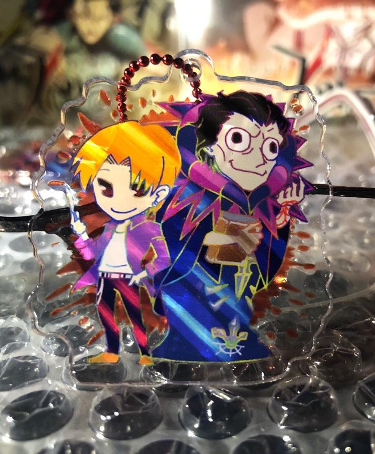 Fate/zero キャスター&龍之介アクリルキーホルダー