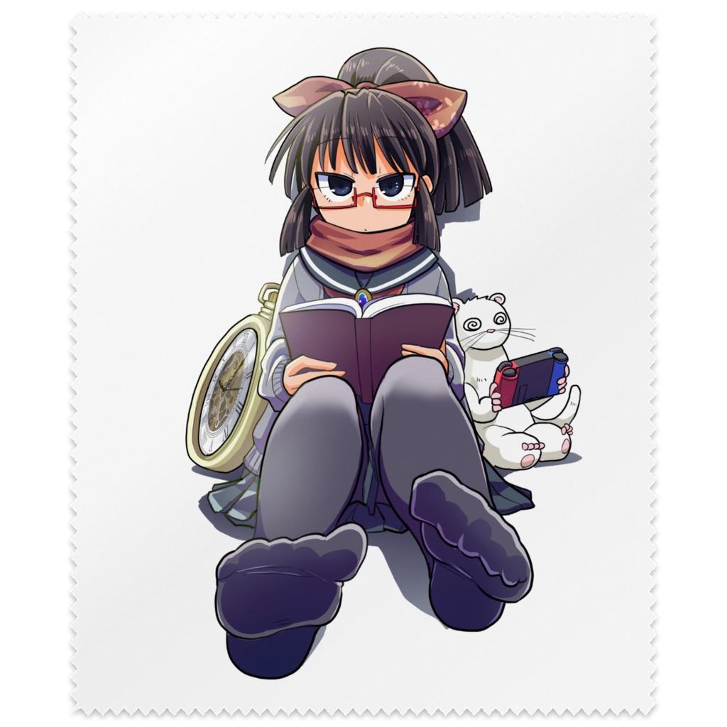 暇劇、柊りん(冬制服A:メガネ拭き)