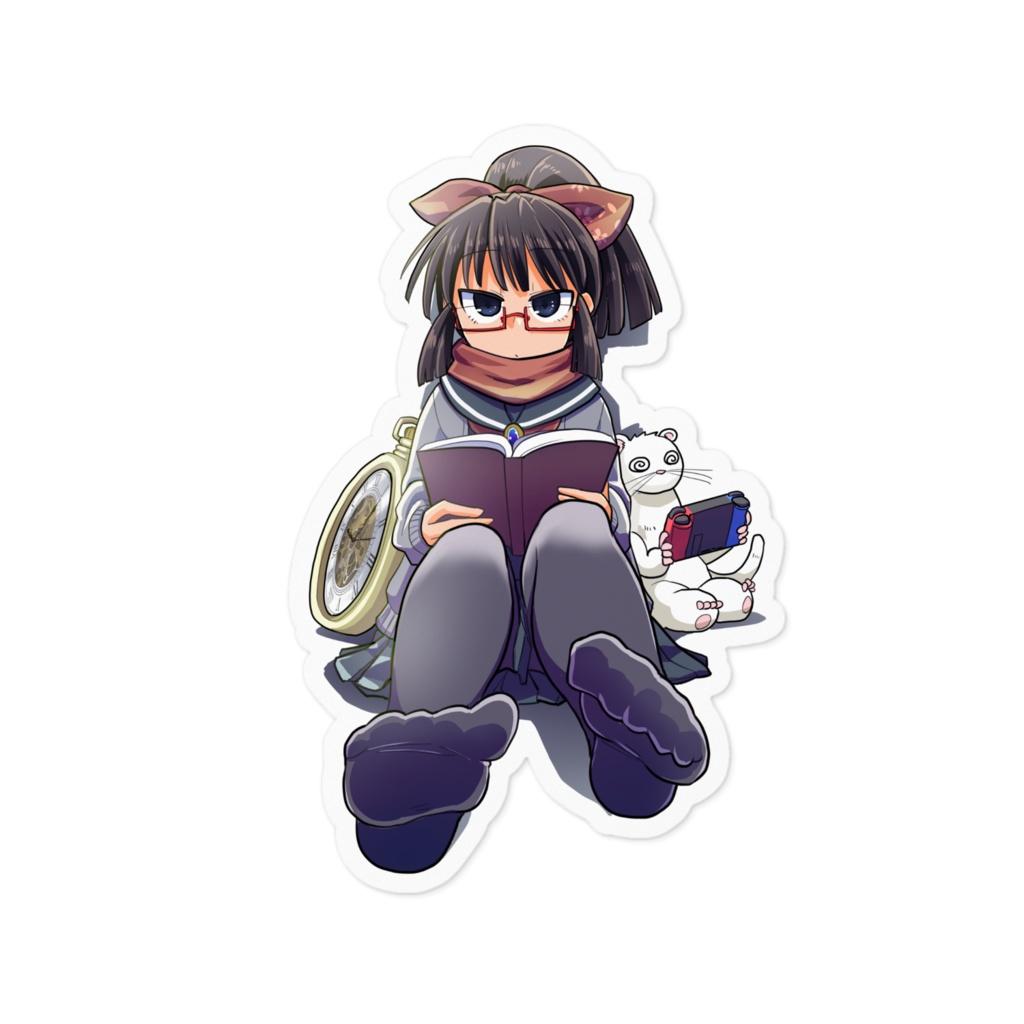 暇劇、柊りん(冬制服A:ステッカー)