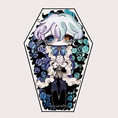 イヴェールの棺アクリルストラップ
