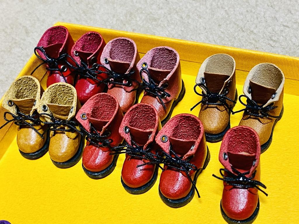 オビツ11紳士靴、ブーツ🥾