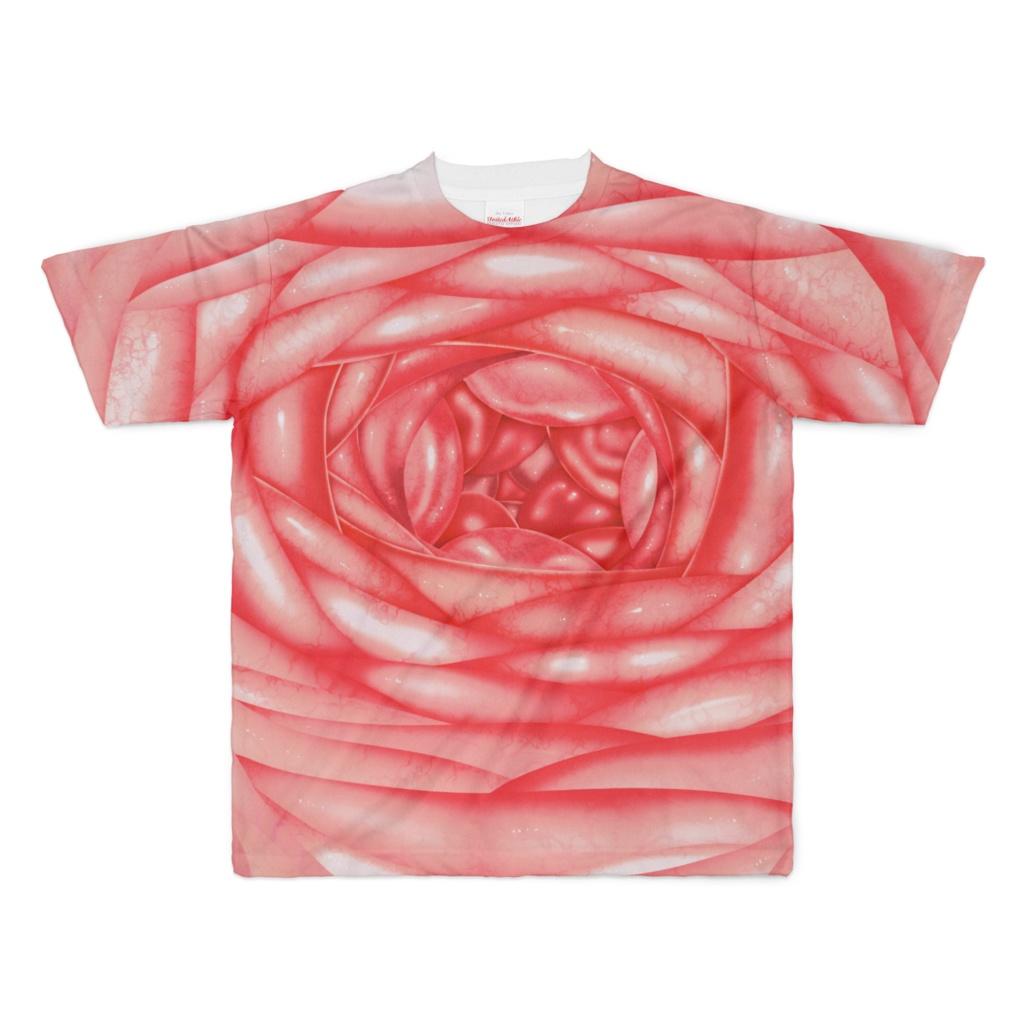 歩くフルグラ肉壁Tシャツ