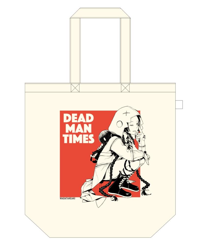 "Tote Bag ""DEADMAN TIMES"""