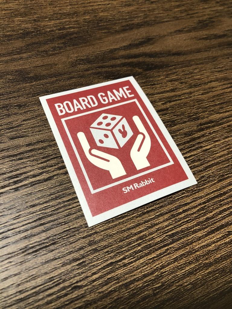 ボードゲームステッカー(1枚)